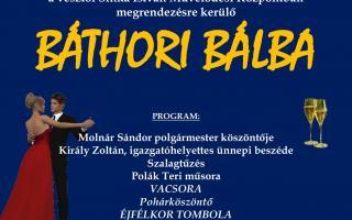 A jubileumi tizedik Báthori Bál meghívója