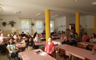Tanévnyitó tájékoztató Tiszafüreden